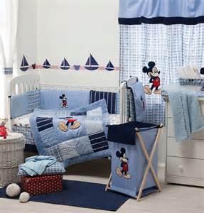 Baby bedding sets disney blue mickey mouse bedding set baby nursery