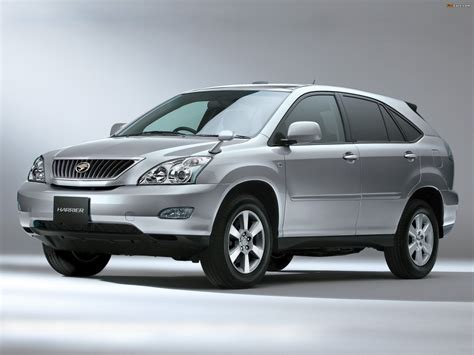 toyota harrier nissan x trail vs toyota harrier car from