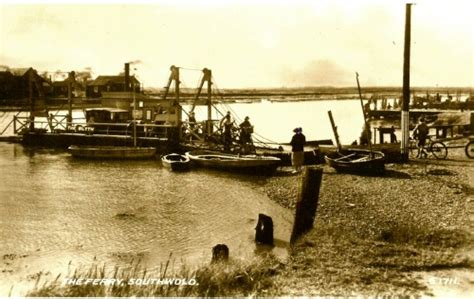 boat transport suffolk quot the old southwold to walberswick ferry now it is just a