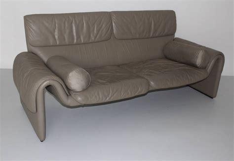 vintage leather bench grey vintage leather bench de sede 1980s for sale at 1stdibs
