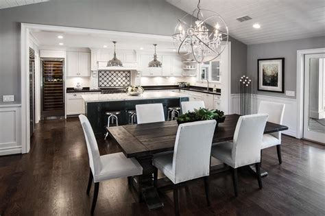 open concept kitchen dining room floor plans 25 best ideas about dining room walls on pinterest