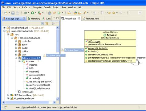 create class diagram from java code create sequence diagram from java code in rad periodic
