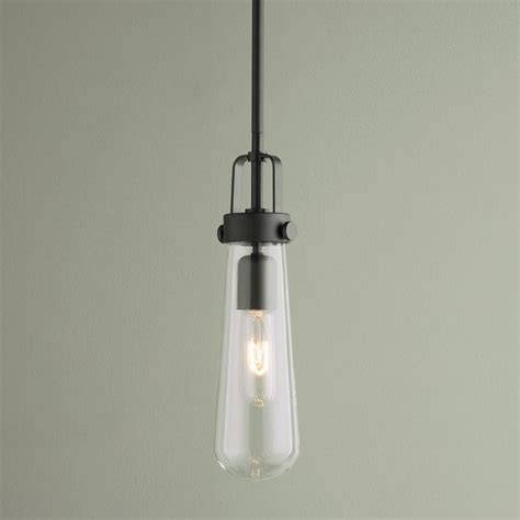 shades of light com clear glass vial pendant light available in 2 colors