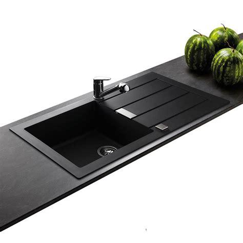 evier noir cuisine evier de marque franke sirius 1 grand bac coloris noir
