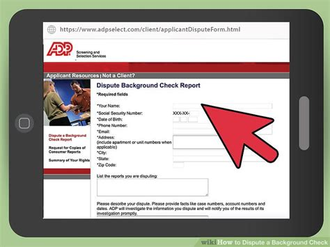Dispute Criminal Record Request A Copy Of Your Background Check Background Ideas