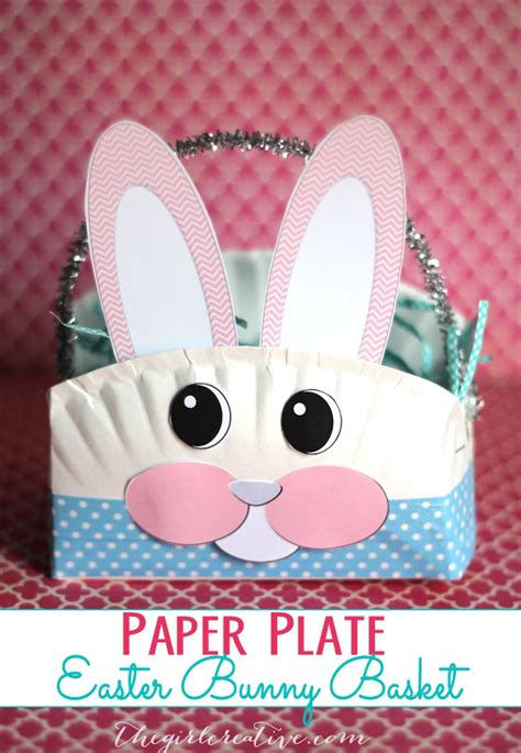Easter Baskets With Paper Plates - 25 best ideas about paper plate basket on