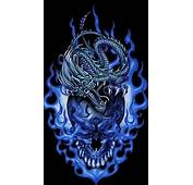 Download Dragon And Skull 360 X 640 Wallpapers  2140912