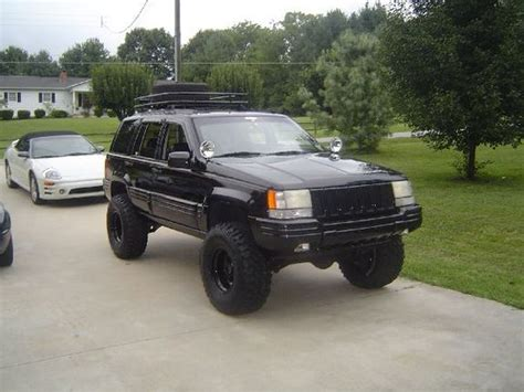 lowered 98 jeep grand another jeepercreeper98 1998 jeep grand post