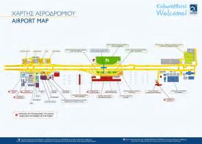 airport map visit greece airport