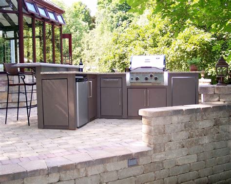 outdoor kitchen cabinets polymer outdoor kitchen equipment product tuscany series sunset bay outdoor