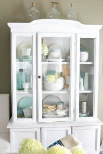 25 best ideas about white china cabinets on