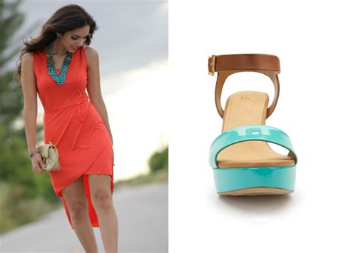 what color goes with coral fashiontip what shoe color goes best with coral dresses