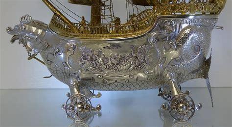 Sale Tas Import K21123 Silver antique silver neff galleon import marks 1913 berthold muller for sale at 1stdibs