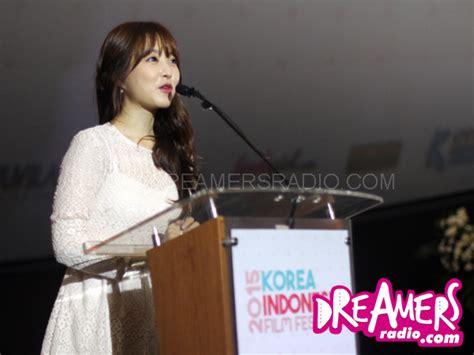 cgv lirik park bo young dukung pertukaran budaya indonesia korea