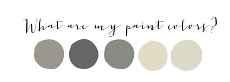 paint color questions my paint colors house of hargrove