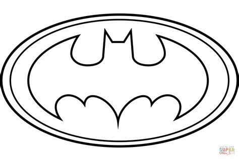 Printable Version Logo | best free batman coloring pages image free coloring book