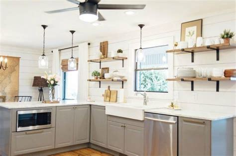 open shelves in kitchen 15 clever ways to add more kitchen storage space with open