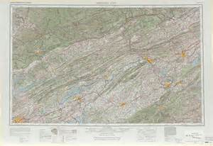 map of tennessee and carolina with cities johnson city topographic maps tn va ky nc usgs topo