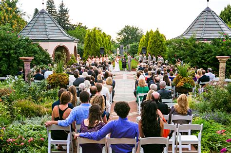Cloud 9 Wedding At The Denver Botanic Gardens Botanical Gardens For Weddings