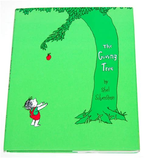 the giving tree book with pictures 1992 shel silverstein the giving tree hardcover book