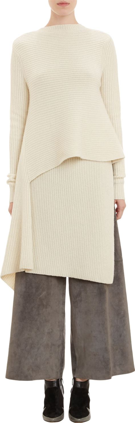 Origami Sweater - derek lam origami wrap sweater at barneys my style