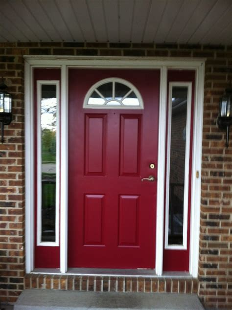 burgundy front door paint colors pictures to pin on pinsdaddy