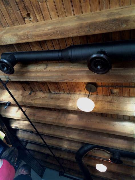 exposed beam  duct ceiling basementceilingoptions