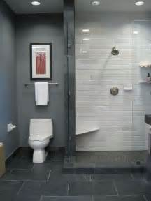 Gray Bathrooms Ideas by 29 Gray And White Bathroom Tile Ideas And Pictures