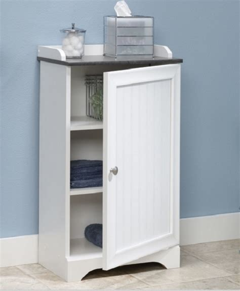 bathroom storage cabinet white toilet organizer shelf