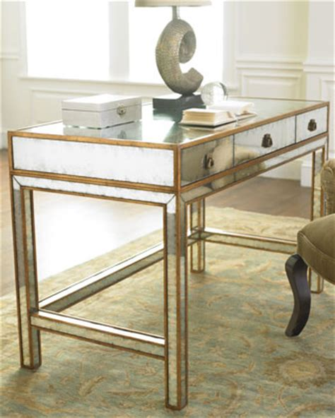 30 fab mirrored desks to glam up your home office