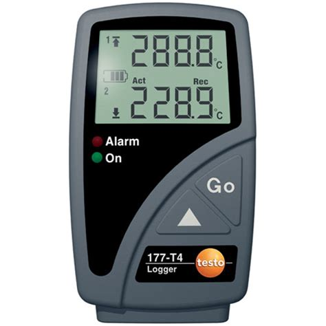 help the testo testo 177 t4 temperature data logger on sale at test