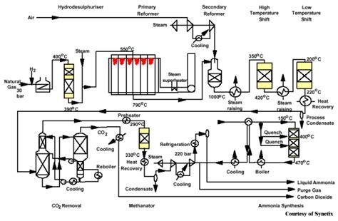plant layout adalah ammonia process