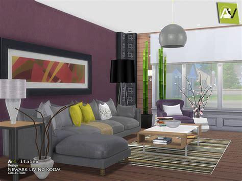 sims 4 wohnzimmer artvitalex s newark living room
