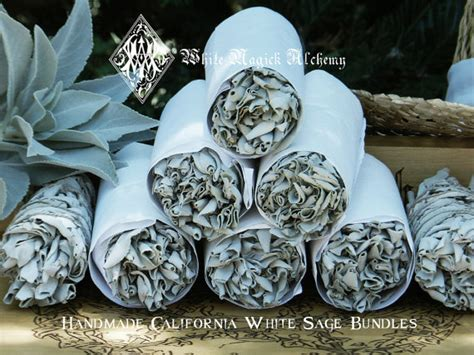 where can i buy sage to cleanse my house white sage smudge wand for cleansing and by whitemagickalchemy