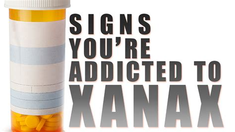 Signs Of Detox From Xanax by Signs That You Re Addicted To Xanax
