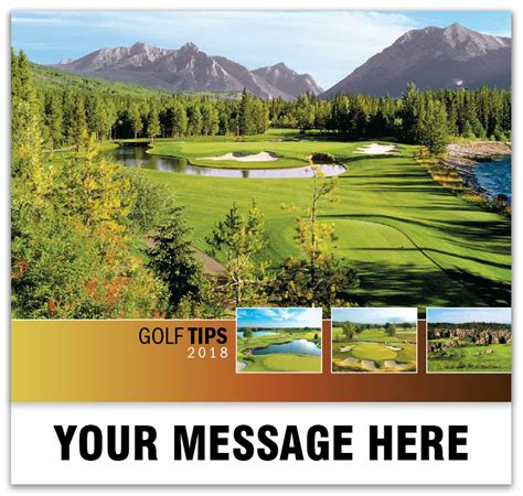 Inexpensive Personalized Calendars Inexpensive Wholesale Golf Tips Wall Calendars
