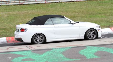 Bmw 1 Series Compression Test by Bmw 2 Series Convertible 2015 Spied At The Nurburgring