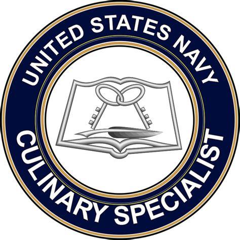 u s navy culinary specialist cs decal