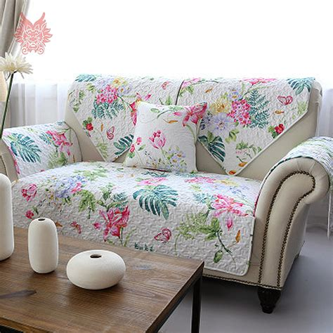 print slipcovers aliexpress com buy free ship american style white blue