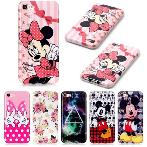 Silikon Minnie Best Quality Iphone 7 Soft Cover Casing compare prices on mickey apple shopping buy low price mickey apple at factory price