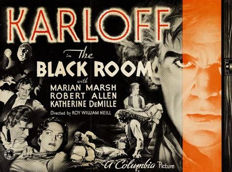 the black room 1935 the black room 1935 karloff plays one one evil posters 1920s 1930s