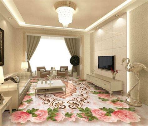 15 Lovely 3D Epoxy Floor for Spectacular Living Room