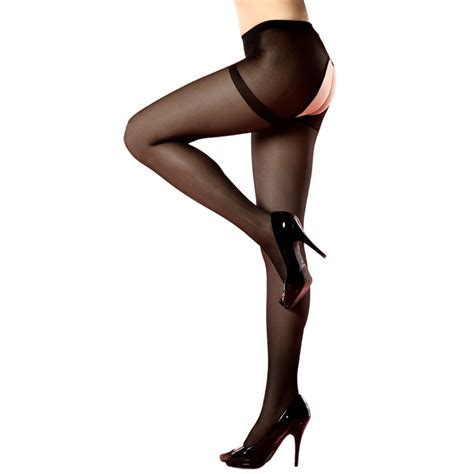 Comfort New Hollow Crotch Tights Compression Stockings