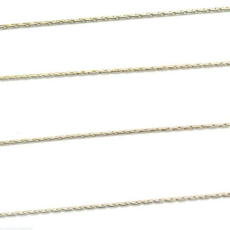 sterling silver 0 7mm beading chain pk of 1 ft