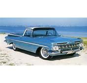 1959 Classic Chevrolet  The El Camino