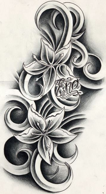 free flower tattoos designs andriaj89 temporary flower tattoos designs