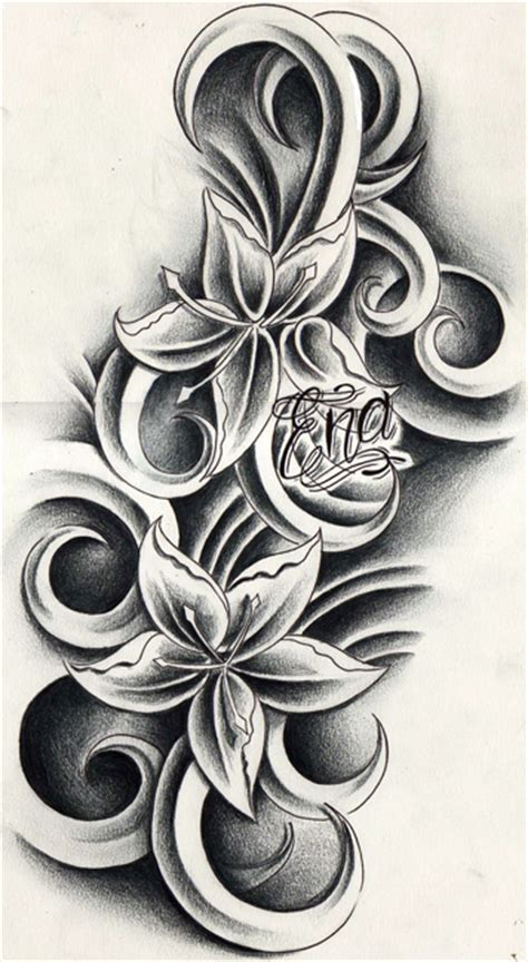 tattoo design flower andriaj89 temporary flower tattoos designs