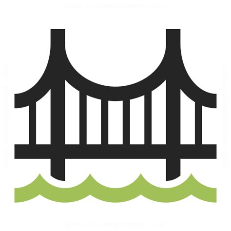 Building Style by Bridge Icon Amp Iconexperience Professional Icons 187 O