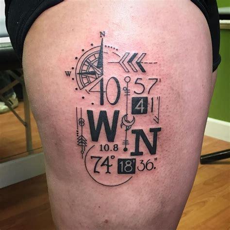latitude and longitude tattoo latitude and longitude tattoos t tatuagens