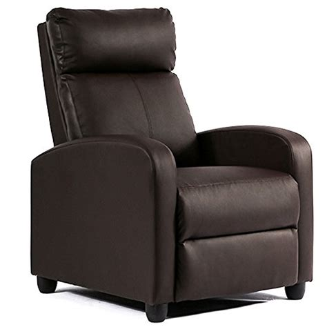 fdw recliner chair single reclining sofa leather chair